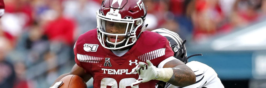 Temple vs SMU 2019 College Football Week 8 Odds, Game Info & Pick.