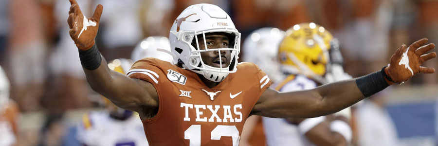 Texas comes in as the favorite at the latest College Football Week 3 Odds.