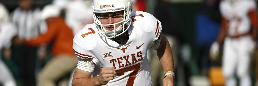 Texas vs Texas Tech NCAA Football Week 11 Odds & Prediction.