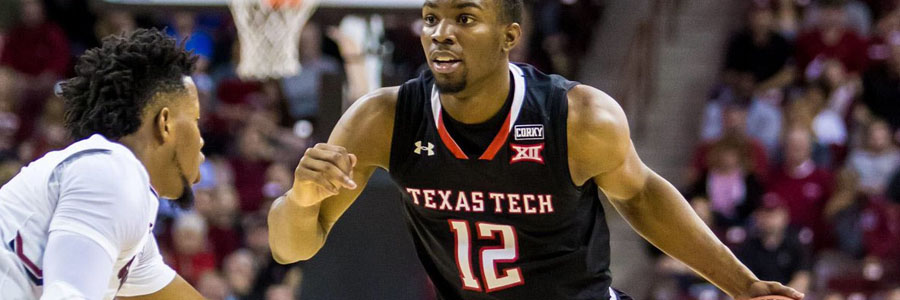 Texas Tech is Slight Favorite at the NCAAB Lines against Oklahoma State