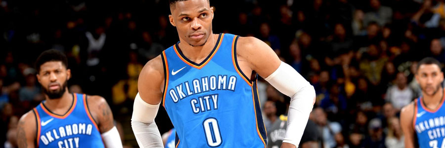 Thunder vs Trail Blazers NBA Betting Lines & Pick for Thursday Night.