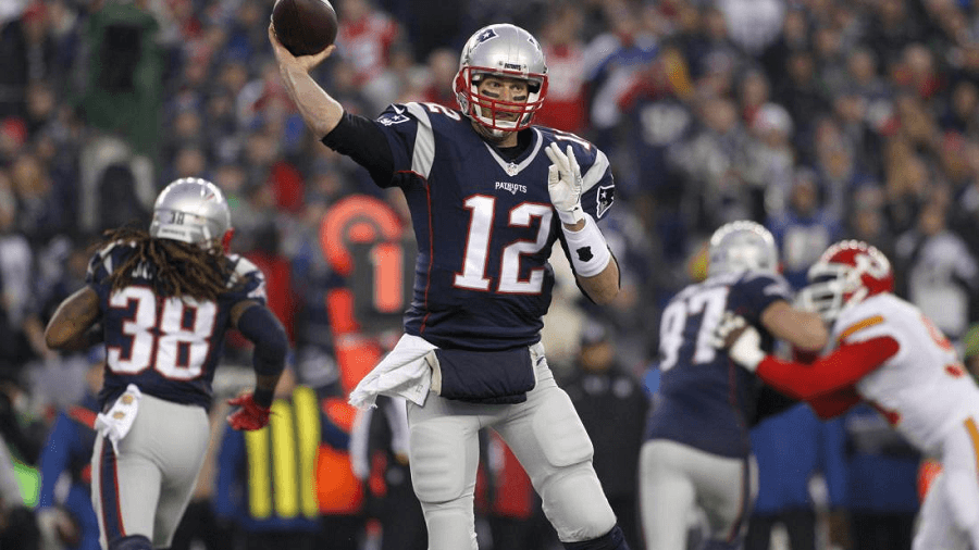 Tom Brady will be looking to carry his Patriots to another Super Bowl win.