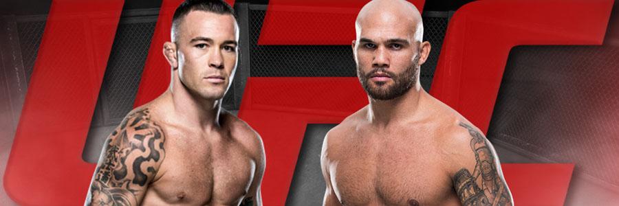 UFC on ESPN 5 Covington vs Lawler Odds, Preview & Pick.