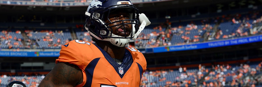 Von Miller is one of the reasons for the Broncos to be considered the NFL Betting Odds favorite for Week 11.