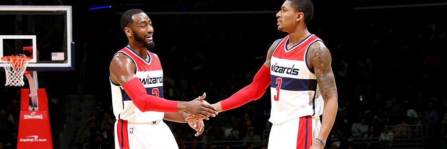Playing at home, the Wizards come in as slight NBA Betting favorites against the Raptors.