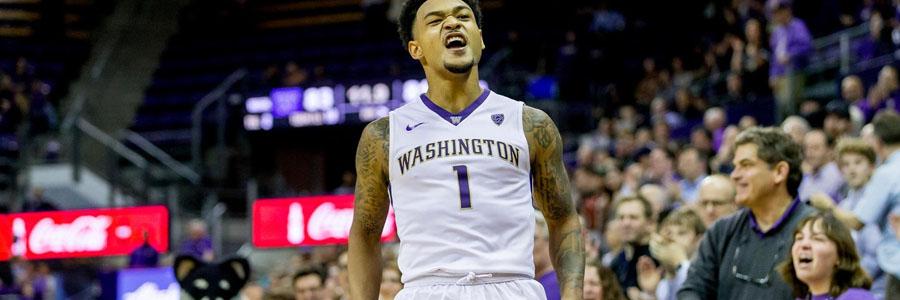 Washington looks like a safe NCAA Basketball Betting Pick for this week.