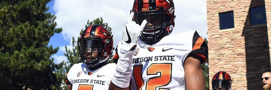 Week 1 Oregon State Beavers at Colorado State Rams Betting Lines