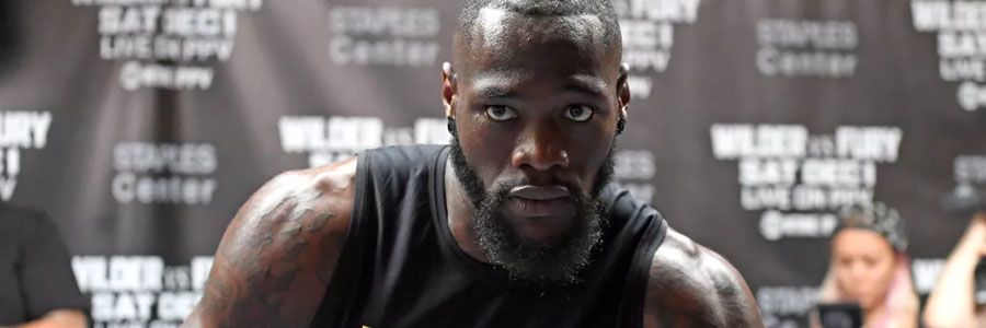 Deontay Wilder is one of the Boxing Betting favorites for this week.