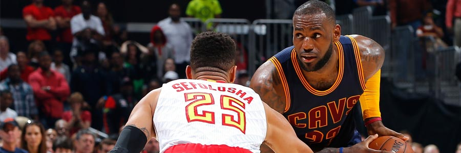 How To Bet Atlanta Hawks at Cleveland Cavaliers Game 2 NBA Playoffs Lines