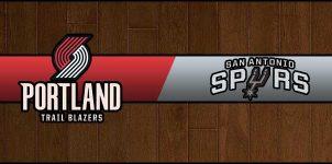 Blazers vs Spurs Result Basketball Score