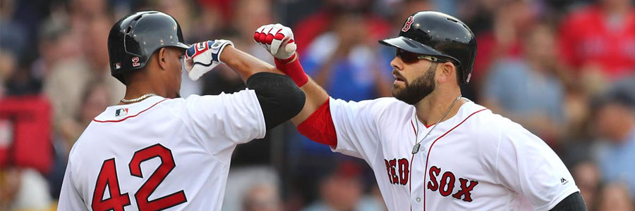 The Red Sox are underdogs in the MLB odda against the Astros.