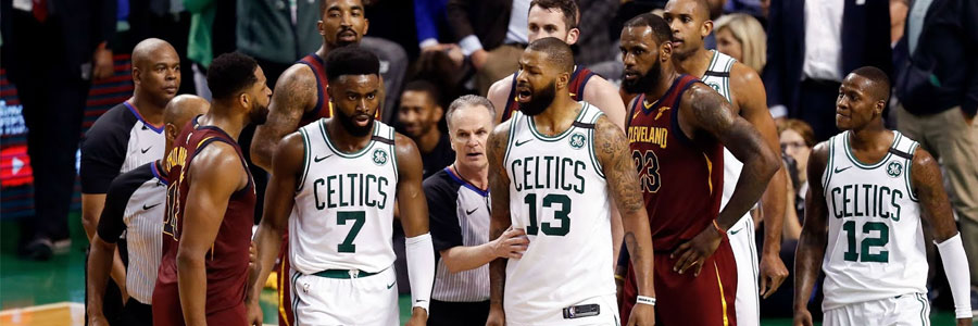 Celtics at Cavaliers NBA Odds & Game 4 Info - May 21st