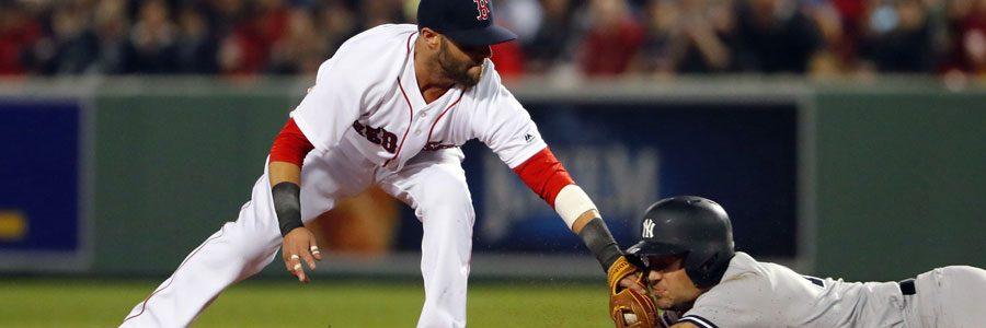 MLB Betting Series Boston at NY Yankees