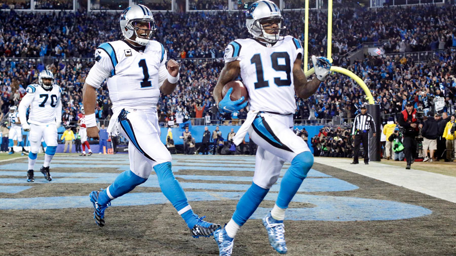 Carolina will open the Super Bowl as favorites.
