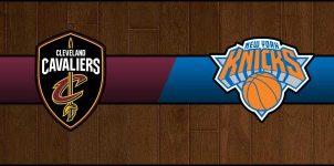 Cavaliers vs Knicks Result Basketball Score