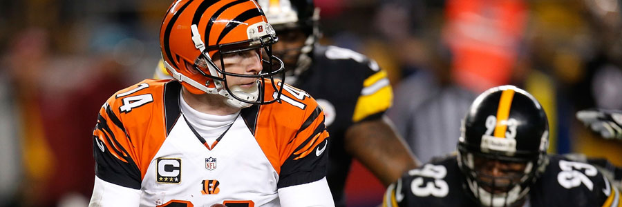 The Bengals are favorites in the NFL odds for Week 8