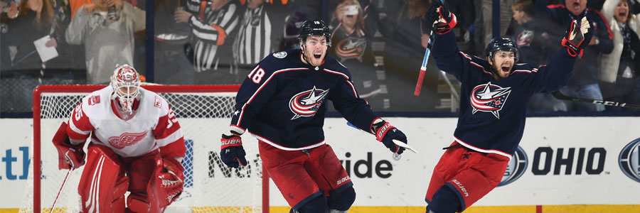 2018 NHL Playoffs: Blue Jackets at Capitals Hockey Odds for Game 1