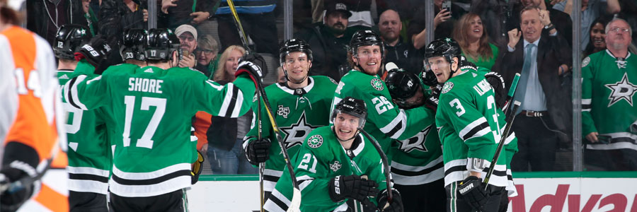 Stars at Sharks NHL Betting Lines & Preview - April 3rd