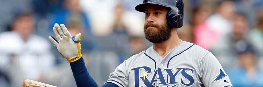 The Rays are not the MLB betting favorite against the Cubs.