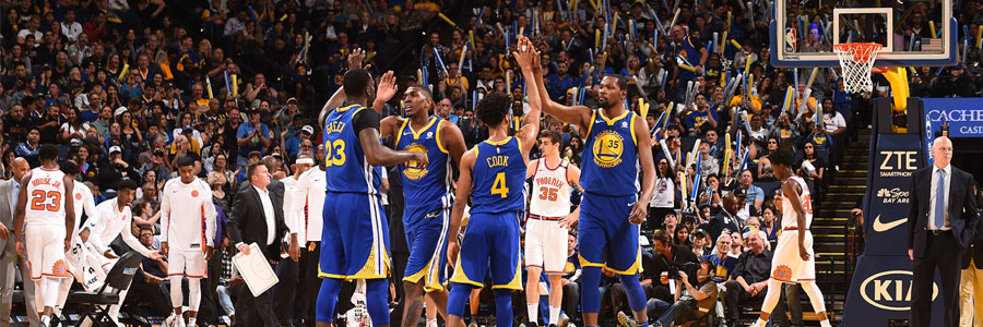 Warriors are Underdogs vs. Thunder in NBA Betting Odds on Tuesday