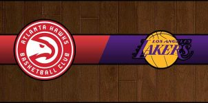 Hawks vs Lakers Result Basketball Score