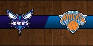 Hornets vs Knicks Result Basketball Score