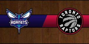 Hornets vs Raptors Result Basketball Score