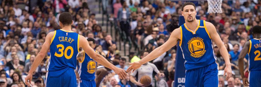 Golden State Warriors 2017 NBA Championship Betting Prediction