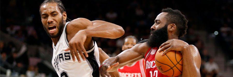 Houston at San Antonio NBA Playoffs Odds & Game 2 Preview