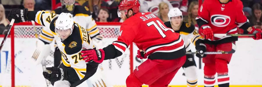 Hurricanes vs Bruins Stanley Cup Playoffs Game 2 Lines, Prediction & Pick