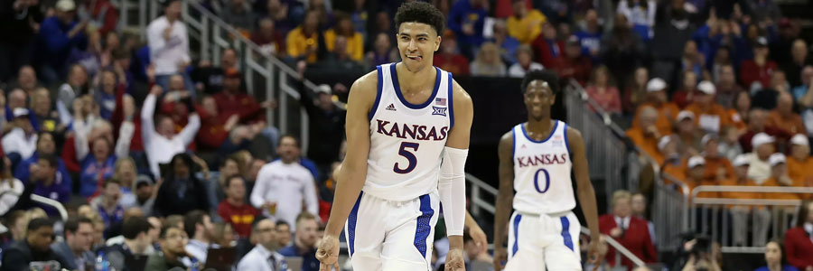 Is Kansas a secure bet in the March Madness odds in the second round?
