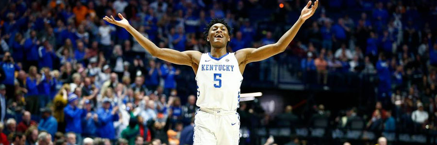 Is Kentucky the best choice in the second round of March Madness?