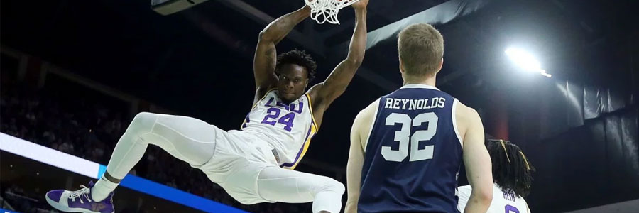 Is LSU a safe bet in the second round of March Madness?