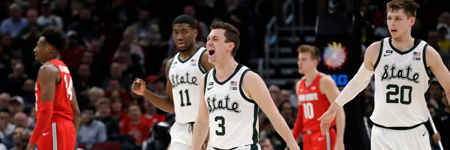 Is Michigan State a secure bet vs Bradley?