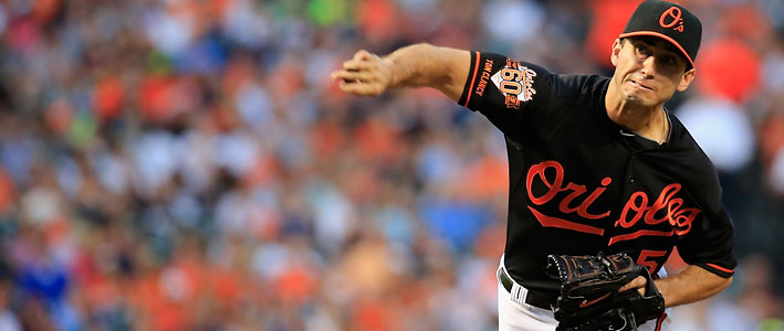 MLB Betting Lines on Baltimore Orioles at Boston Red Sox
