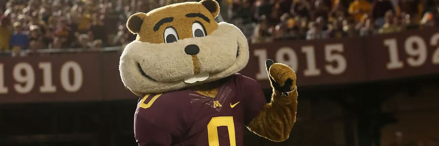 The Golden Gophers are favorites in College Football Week 1.