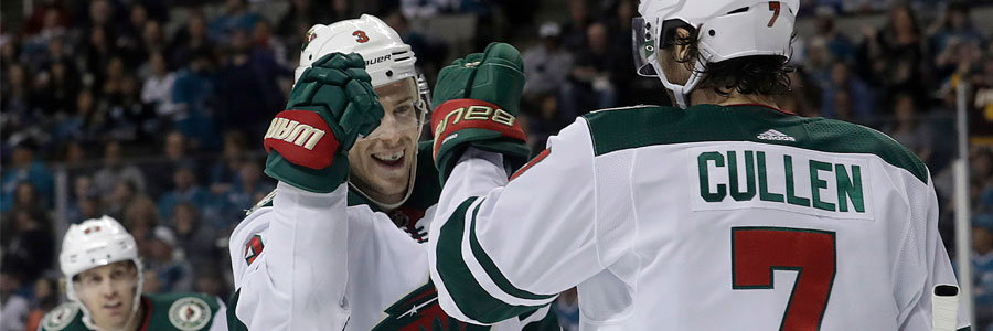 Wild at Jets 2018 NHL Playoffs Odds & Game 2 Preview