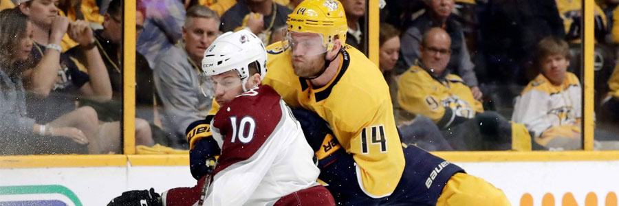 Predators at Avalanche Game 4 NHL Betting Preview & Pick
