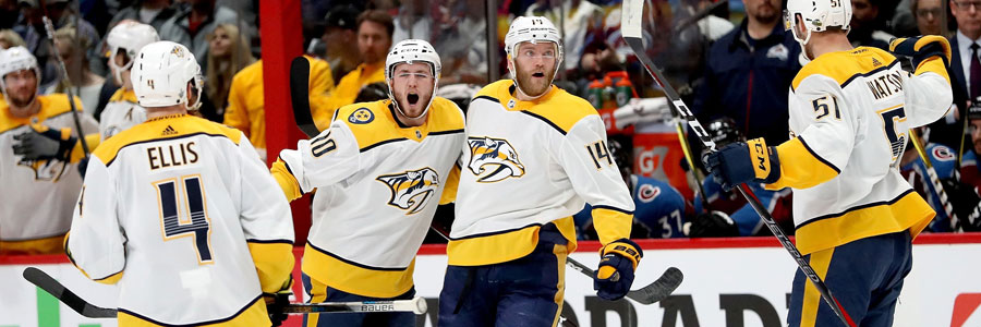 Are the Predators a safe NHL betting pick in Game 1?