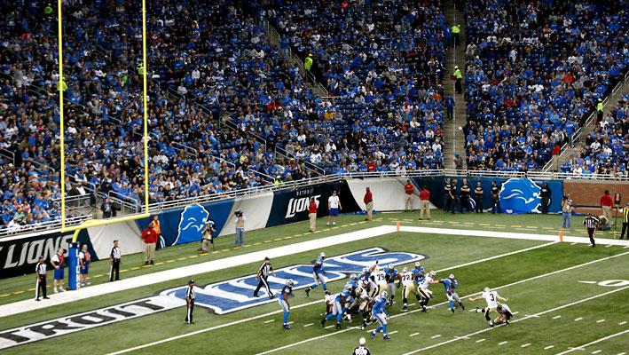 NFL Extra Point Saints vs Lions
