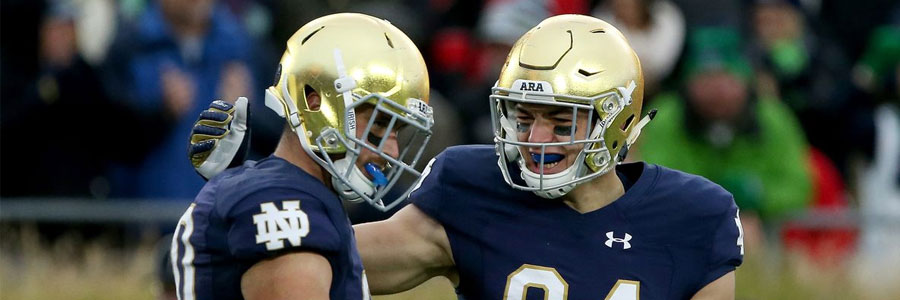 Is Notre Dame a safe bet in the NCAAF odds?