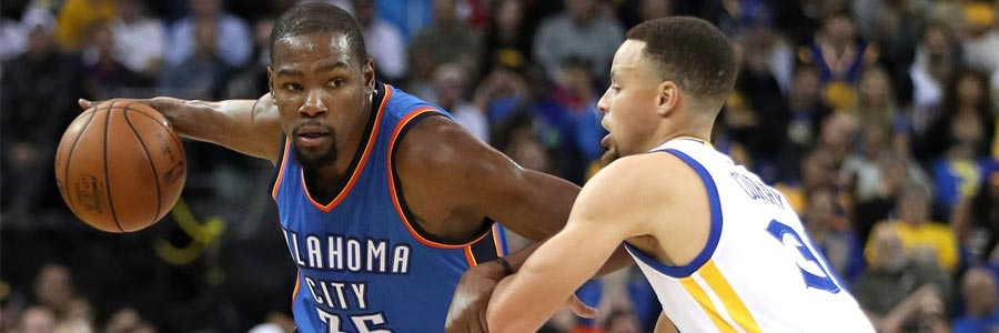 Oklahoma City at Golden State NBA Playoffs Lines Game 2