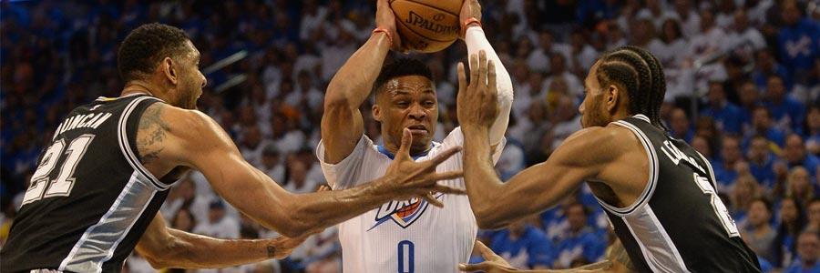 Oklahoma City at San Antonio Game 5 NBA Playoffs Odds Pick