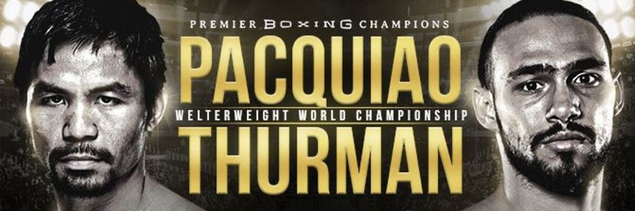 Pacquiao vs Thurman 2019 Boxing Odds, Preview & Pick