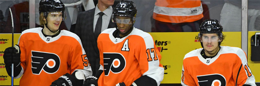 2018 NHL Playoffs: Flyers at Penguins Hockey Lines for Game 2