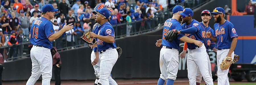 The Mets are favored to win on April 22, though. Will the home team get it done?
