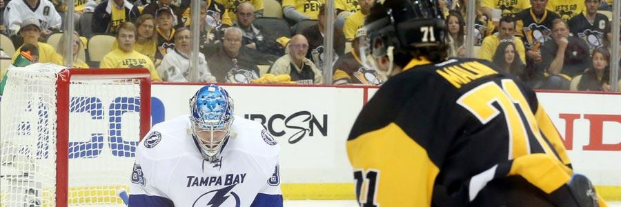 Tampa Bay at Pittsburgh NHL Playoffs Odds Game 2