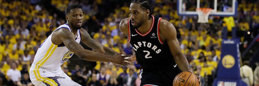 Raptors vs Warriors 2019 NBA Finals Game 4 Odds & Preview
