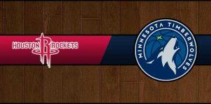 Rockets vs Timberwolves Result Basketball Score