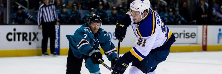 San Jose at St. Louis NHL Playoffs Betting Pick Game 2